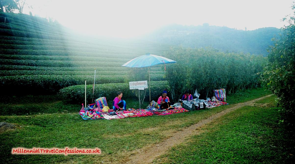 Burmese and Chinese hill tribe people in Santikhiri Mae Salong