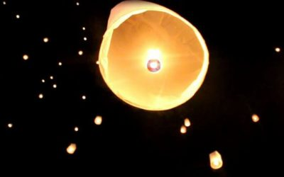 New Year's Eve in Chiang Mai – The Sky of Floating Lanterns
