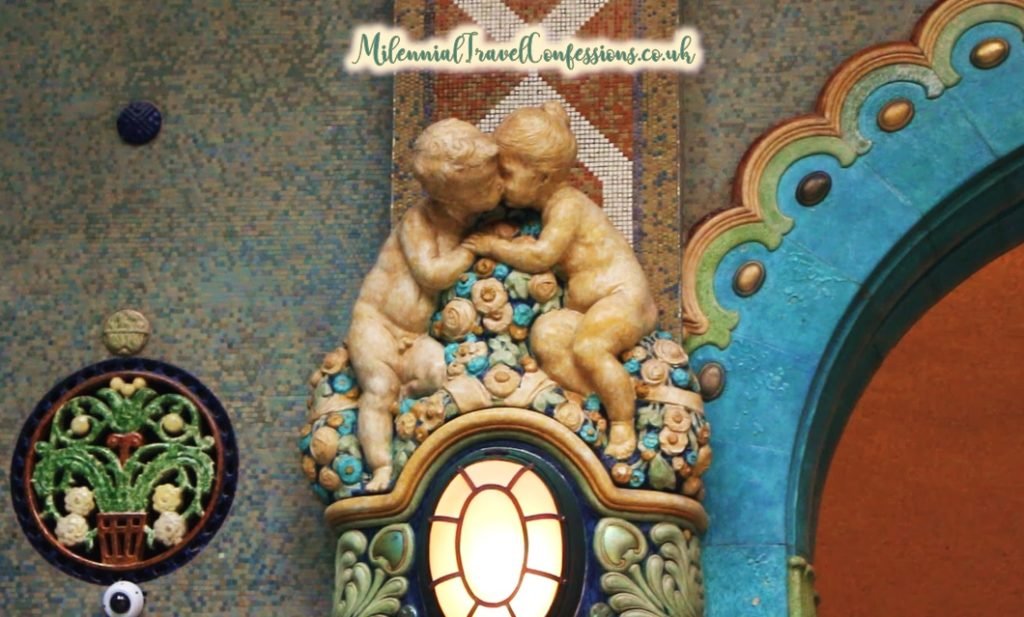 Art Nouveau Budapest Gellert Thermal Baths