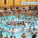 Outdoor pools Szechenyi thermal Baths Budapest