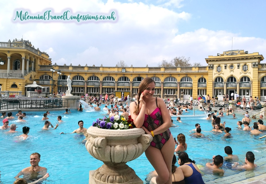 Szechenyi Thermal Baths Outdoor Pools in Budapest