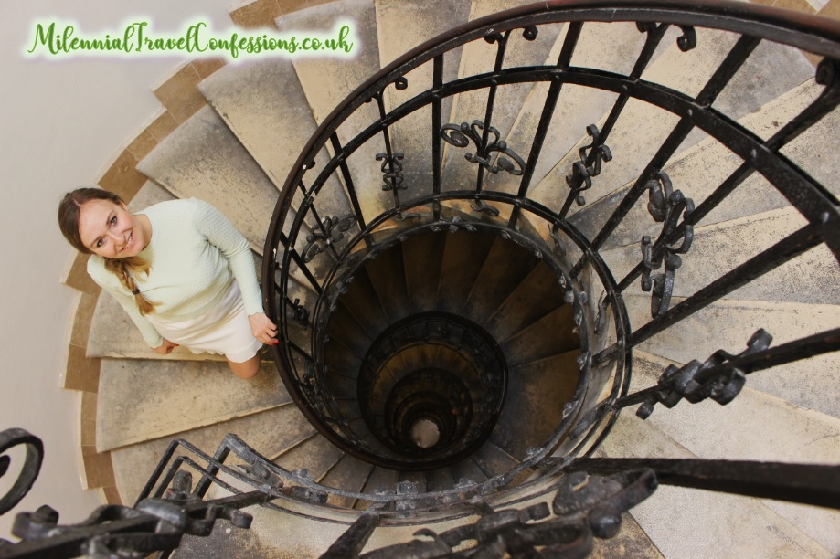 Spiral staircase Budapest Hungary